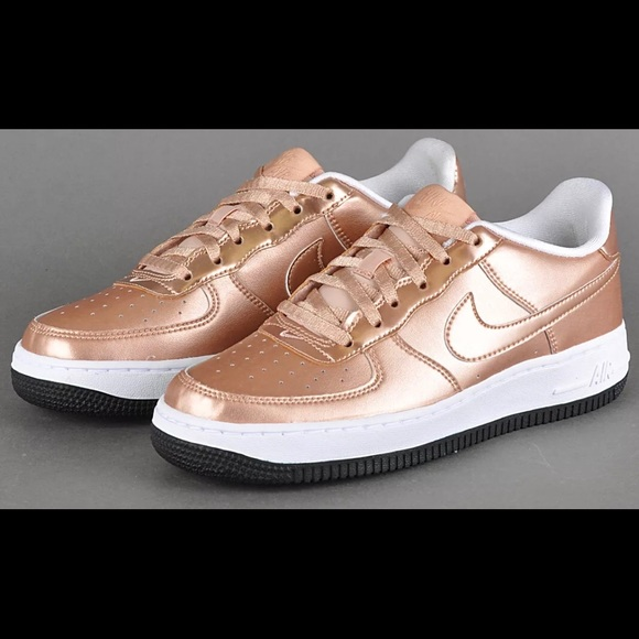 Nike Air Force 1 Rose Gold NEW
